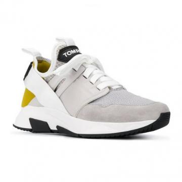Grauer Sneaker